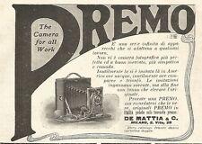 Y2142 Apparecchi fotografici PREMO - Pubblicità del 1903 - Old advertising