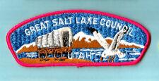 GREAT SALT LAKE S-5  Vintage UT Boy Scout Council patch, Utah