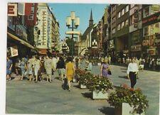 Koeln Am Rhein Schildergasse 1977 Postcard Germany 591a