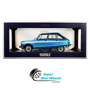 Norev 1:18 1974 Citroen Ami Super (Blue metallic) Diecast Model