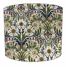 William Morris Fabric Table Lampshade, William Morris Design Ceiling Light Shade
