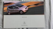 Mercedes A Class brochure Aug 2000