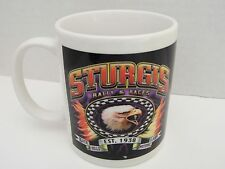 Sturgis Coffee Mug Motorcycle Rally Races 1938 Black Hills Motor Classic Eagle