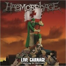 HAEMORRHAGE - Live Carnage - Feasting On Maryland LP