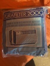 """Purafilter 2000 Window Air Conditioner Filter Pad 15 x 24"""" cut to size washable"""