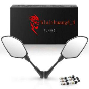 Black 8/10mm Motorcycle Racing Rearview Mirror For  Du.ke 390 200 125 690 990