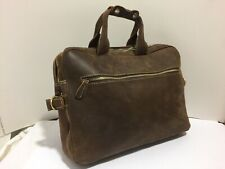 Iswee Brown Leather Bag