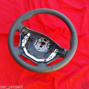 Volante per Mercedes per Vito 638 Con Grigio Pelle Neubezogen. Vendita