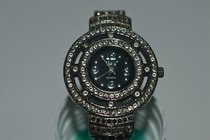 VIVANI Quartz Watch Rococo Style 31 mm By Accutime Used VINTAGE Works Fine
