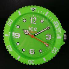 Ice Watch Wall Clock Lime Green Modern Stylish Analog Sweeping Motion Display