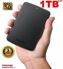 "NEW1TB2.5""Toshiba Canvio Basics Portable External Hard Disk Drive USB3.0 Blak"