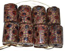 Antique Venetian Millefiori Italian Murrine Cane Beads - Nigeria, African Trade