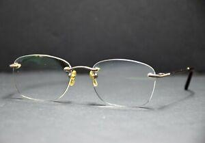 Lozza Titanium Unisex Glasses Spectacles Frames VL2179 Bronze Brown