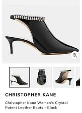 christopher kane Crystal Patent Boots Size 38 RRP£700