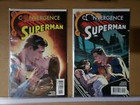 CONVERGENCE SUPERMAN  #1-2 1st Appearance And Birth Of Jonathan Kent  NM  (E730)