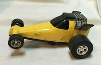 * Vintage TONKA RACE CAR Made in Japan yellow