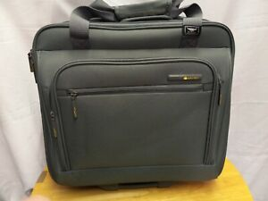 Delsey Luggage Rolling Mobile Office Travel  Briefcase  business Lightweight