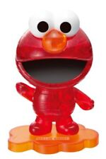 BEVERLY Crystal puzzle 3D Elmo SESAME STREET Red 40 piece Free Shipping Japan