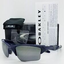 NEW Oakley Half Jacket 2.0 XL sunglasses Navy Black Irid AUTHENTIC blue 9154-24