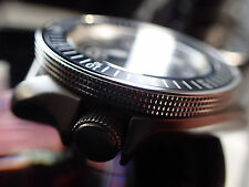 THE-ATLAS-ONE S  POLISHED MOD/CUSTOM BEZEL FOR SEIKO SKX007 7S26-020 DX.S-04-P