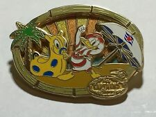 Disney Cruise Line DCL Captain's Choice August 2006 Donald Duck Beach Palm Pin
