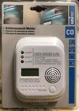 Unitec CO Kohlenmonoxidmelder Gasmelder Melder mit Testknopf