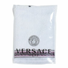 Versace Home White Decorated Face Towel