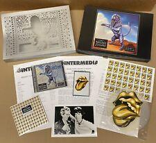 The ROLLING STONES Bridges To Babylon 1997 UK Promo Only BOX SET CD + Press Kit