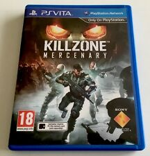 Killzone Mercenary game for the PlayStation PS Vita. FREE POSTAGE!