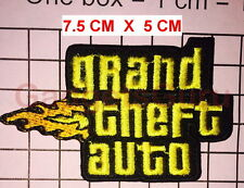 Grand Theft Auto Patch GTA Patch EMBROIDER Iron on / Sew on PATCH