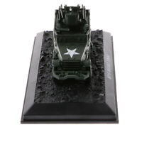 1/72th Military M16-MGMC-1944 WWII Diecast Air Defense Car Model Toy Gifts