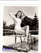 Evelyn Ankers busty leggy RARE Photo
