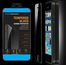 50x Wholesale Lot of 50 Tempered Glass Film Screen Protector for iPhone 5 5c 5S