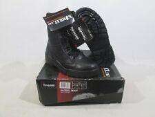 Kombat Full Leather Patrol Boots Black Combat Expedition Walking Security UK 4
