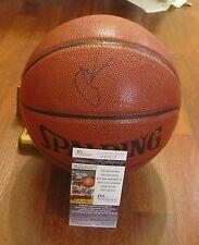 SYRACUSE ~ NEW YORK KNICKS CARMELO ANTHONY HAND SIGNED BASKETBALL W/ JSA COA