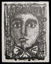 1948 Original Antoni Clave Print Girl Candide Voltaire