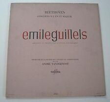 """Emile GUILLELS """"Beethoven concerto N°1 en ut majeur"""" (Vinyle 33t / LP)"""