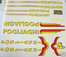 Pogliaghi decal set late complete for Campagnolo