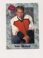 1991-92 DRAFT PICK  # 5 FLYERS PETER FORSBERG  ROOKIE CARD