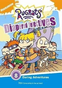 Rugrats - Diapered Detectives- DVD
