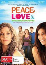 Peace, Love & Misunderstanding (DVD, 2013)