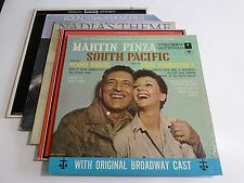 Lot Of 5 Soundtracks LP Wholesale Funny Girl South Pacific Vinyl Record