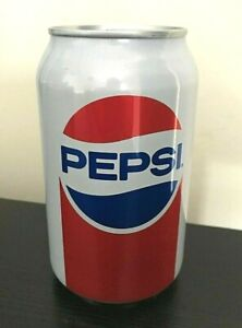 NEW Rare Collectable Unopened 'Vintage 1980's Style' Pepsi Can 330ml + Ringpull