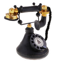 MagiDeal Vintage Antique 1950's Phone Retro Rotary Dial Telephone 7111-34