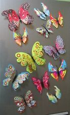 Schmetterlingsset Wanddeko Schmetterling Wand Party Sommer
