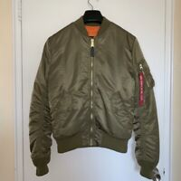 Alpha Industries Ma-1 bomber Jacket, Size S Men