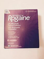 Women's Rogaine Topical Solution 2% Minoxidil - 6 Months Supply