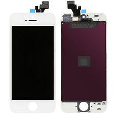 TOUCH SCREEN + LCD DISPLAY RETINA +FRAME PER APPLE IPHONE 5 BIANCO VETRO SCHERMO