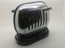 RARE STUNNING 1950's BLACK BASE MAYBAUM 581 VINTAGE ELECTRIC TOASTER WORKING