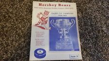 Minor League Hockey Team Program Collection 1969-1982 Calder Cup - Lot of 5 Mags